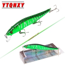 YTQHXY 2017 Hot Model Fishing Lures Hard Bait 6 Color 11.5cm 13.2g Minnow Quality Professional Lure Depth 0.3-1.5m YE-81(China)