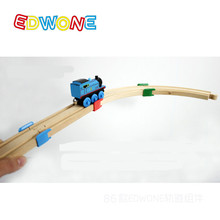 Thomas and Friends -- Thomas Wooden Train Track Railway Accessories --The Wooden Track Plastic Holder Tight Wood Tracks(China)