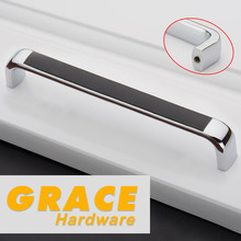 Low Furniture Knob Cabinet Drawer Solid Fashion Handle Wardrobe Modern Handle New (C.C.:160mm,L:167mm)(China)