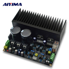 AIYIMA Amplificador Amplifiers Audio LM3886 Stereo High Power Amplifier Board OP07 DC 5534 Independent OP Amp PCB DIY Kits(China)