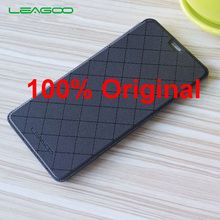 For Leagoo M8 Case Original Official Flip Leather Case With Back Battery Cover Cases For Leagoo M8 Pro Mobile Phone Free Ship(China)