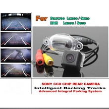 Directive Parking Tracks Lines Rear Camera For Daewoo ZAZ Lanos / Sens Japan imports HD CCD HD Model / Best Model
