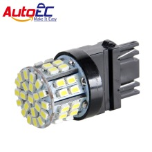 AutoEC 2x DC12V T25 3157 3156 50 SMD 1206 LED Red Car Auto DRL Brake Stop Reverse Lights Bulb Lamp