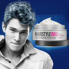 100g Professional disposable Silver Gray Color hair gel cream color hair wax product for quickly strong modeling man and woman