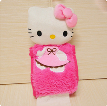 New 2pcs/lot hello kitty tissue box hanging napkin holder paper holder for bathroom