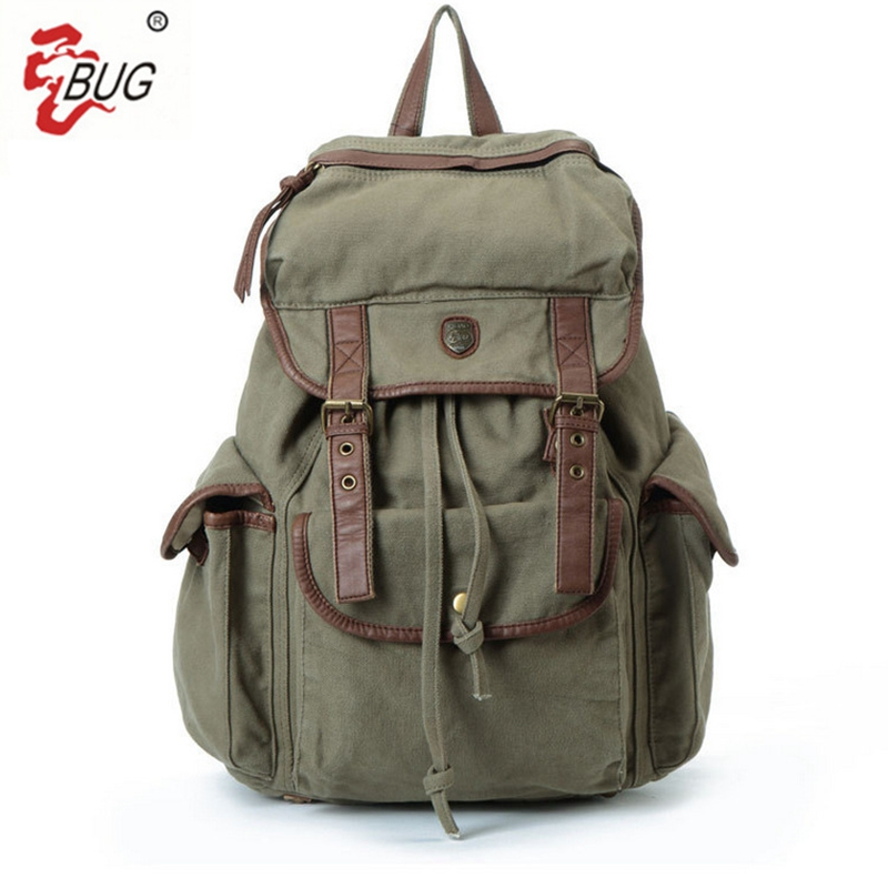 2017 New BUG Brand Vintage backpack Large Capacity men women Luggage bag canvas travel bags Top quality travel duffle bag<br>