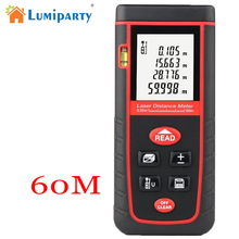 Buy Lumiparty Laser Distance Meter 40M 60M 80M Laser Rangefinder Range Finder Meter Self-calibration Digital Laser Tape Measure for $22.99 in AliExpress store