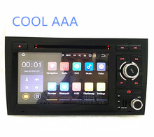 2din car radio android 6.0 HD 1024X600 Quad core For audi a4 (2002-2008) with WIFI Bluetooth Phonelink BT 1080P Ipod Map