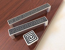 3.75'' 5'' Chic Drawer Knobs Handles Dresser Handles White Cupboard Pulls Handles / Cabinet Handles Knob Kitchen Hardware