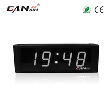 "[Ganxin] 1"" Portable and High Quality Led Clock Directly Factory Supply Low Price Multifunctional Clock"