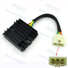 3 Phase Voltage Regulator Rectifier For Linhai 260 Touring Scooter Moped 260cc 300cc Engine ATV Quad 4 Wheeler(China)