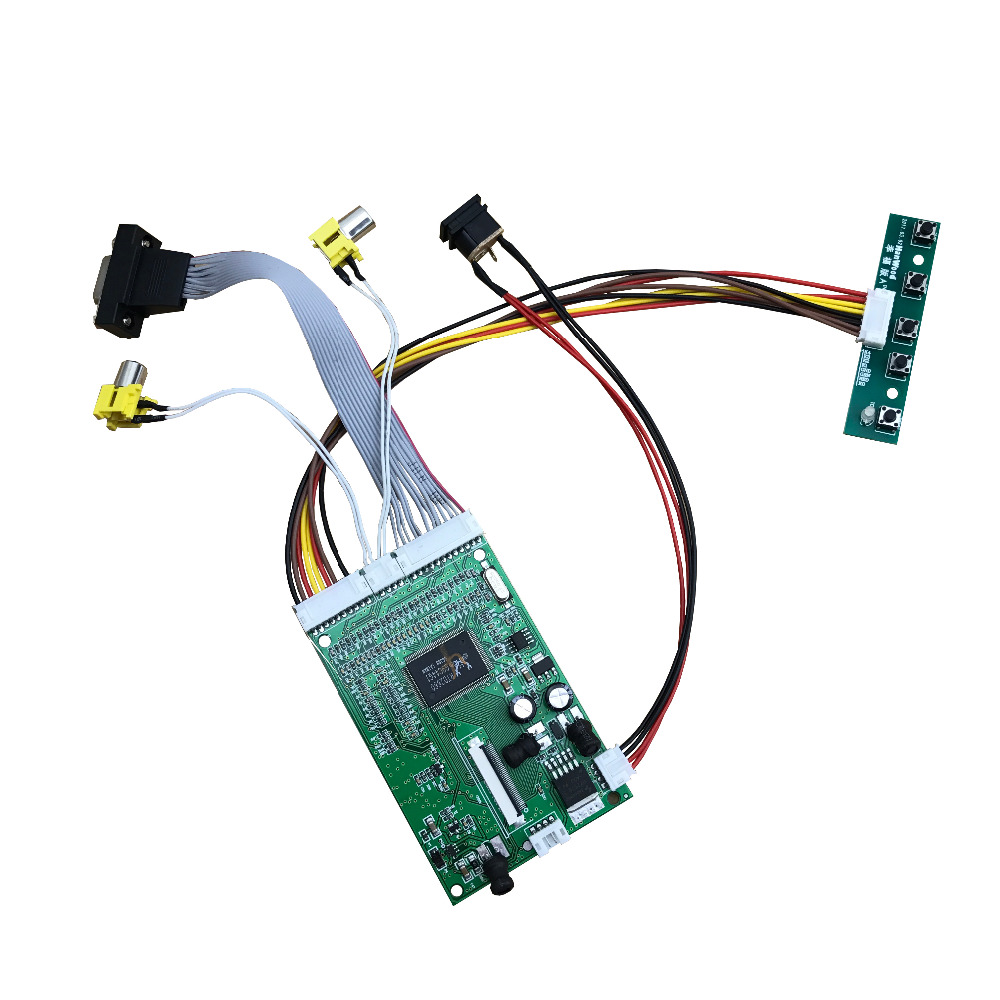 4.3inch 5inch 7inch lcd driver board MP5,GPS 40pins dual AV+VGA driver board 800X480 480X272(pls leave panel number in the pag )(China (Mainland))
