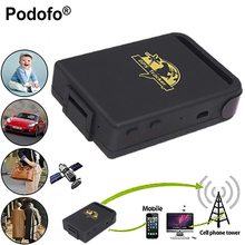 Podofo GPS Locator Vehicle GSM TK102B Car Mini Realtime Online GSM GPRS Tracking Device Locator GPS Tracker TK102 for Kids Pets