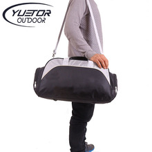 YUETOR Big Capacity Unisex Waterproof Nylon Outdoor Travel Duffle Sport Handbag Single Shoulder Fitness Bags Gym Bag Sports Bags
