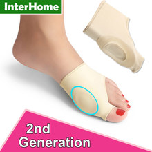 Hallux Valgus Correction Sleeve Feet Care Special Big Toe Bone Silicone Ring Foot Thumb Orthopedic Brace Relieve Foot Thumb Pain(China)