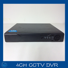 4ch CCTV DVR Security system Full D1 H.264 HDMI p2p cloud Motion detecting remote phone Double stream Monitoring host(China)