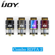 Authentic iJoy Combo RDTA 2 6.5ml Tank with IMC-10 Deck Pre-made Coil Side Filling System Atomizer 100% Original