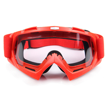 6 colors Motocross Off-Road Racing Glasses Eyewear Ski Motorcycle Snowmobile ATV DH Skate Goggles Single Lens Clears