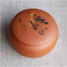 new arrival yixing zisha tea tins hot sale anxi tieguanyin oolong tea storage chests Chinese tea tools T261(China)