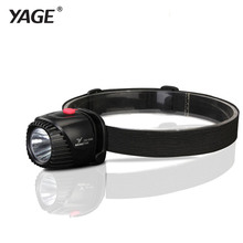 YAGE Headlamp Rechargeable Led Head Lamp Lights on Your Forehead LED Headlight Flashlight Lintern Mini Touch Fishing Lanterna(China)
