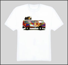 Vw Hippie Van Peace Love Bus T Shirt Quality T Shirts Men Printing Short Sleeve O Neck T-Shirt Homme T Shirt Men Funny