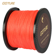 Goture 500M PE Braided Fishing Line Super Strong Japan Multifilament Line Jig Carp Fish Line Wire