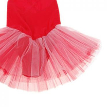 MAKE Hot Girl Ballet Dance Dress Gymnastic Leotard Straps Tutu 5-6 Yrs(White)(Red)(China)