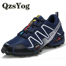 Big Size 39-45 Men Sneakers Sports Running Shoes Air Mesh Breathable Lightweight Athletic Trainers Outdoor Speed Cross Sportive