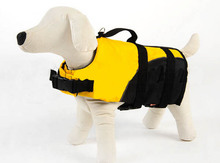 High quality pet dog fashion life jackets doggy yellow swimwear puppy life vest dogs swimsuit pets products apparel S M L
