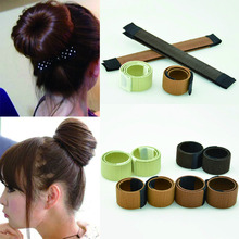 Hair Bun Maker Head Band Bun Hair Styling Multi Function Hair Synthetic Wig Donuts Bud Donuts Bud HeadBand Ball Hair Accessories(China)