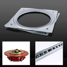 2017 New Tools Dining Table Turntable Hotel Improvement Furniture Wheel Parts Industrial Rotary Table Bearing Swivel Plate