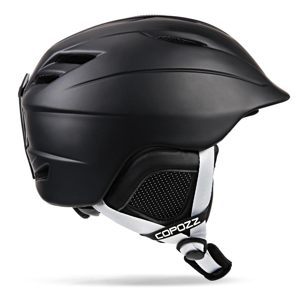 COPOZZ Ski helmet Safety Integrally-molded Breathable Snowboard helmet men women Skateboard helmet Multi Color Size 54-62cm<br>