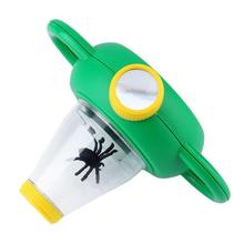 Original OCDAY Magnifier Two Way Bug Insect Viewer Observation Kids Toy Magnifying Glass Children Educational Excellent Toy(China)