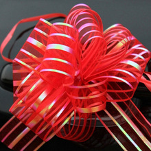 10pcs/lot Gift Packing Pull Bow Ribbons Gift Wrapping Wedding Party Decoration Pullbows