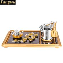 The electromagnetic furnace is fully automatic water boiling kettle, electric tea set, three -(China)