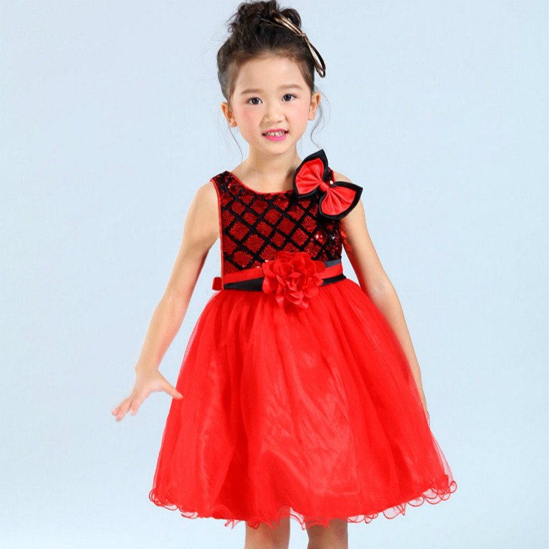 Popular Red Party Dresses for Girls 10 12-Buy Cheap Red Party ...