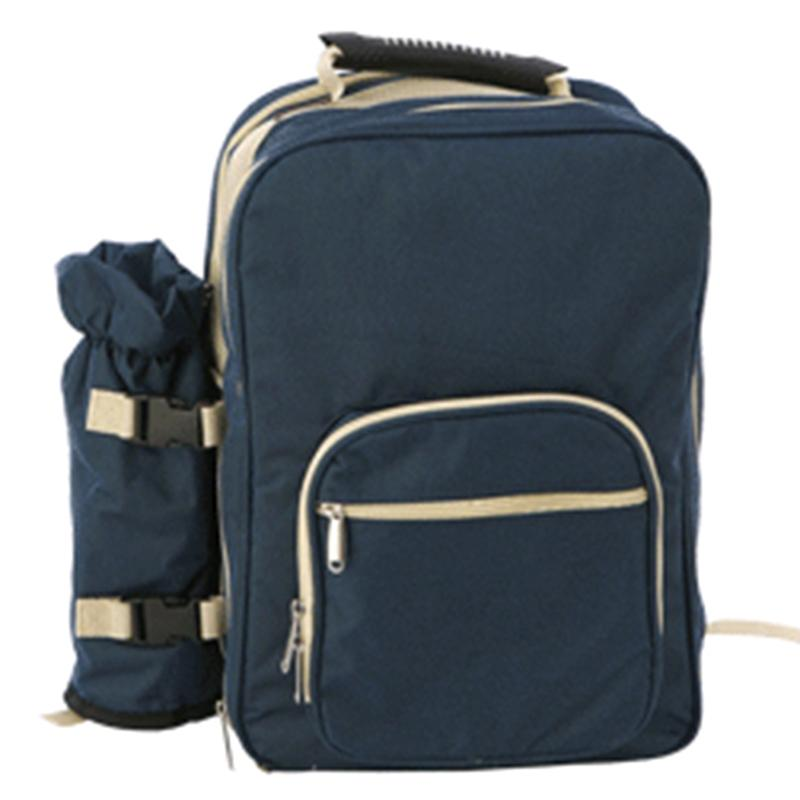 4 Person Picnic Set Portable Double Shoulder Bag
