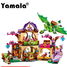 [Yamala] 10504 Elves Secret Place  activity education model building rus blocks girls and children's toys compatible legoingly
