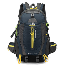 Buy Waterproof Climbing Backpack Rucksack 40L Outdoor Sports Bag Travel Camping Hiking Backpack Women Daypack Trekking Bags Men for $20.98 in AliExpress store