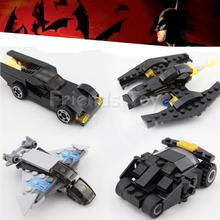 Super Hero's Chariot Vehicles Batmobile Tumbler Batman Batwing Captain America Marvel Building Blocks Toys Compatible With Lego