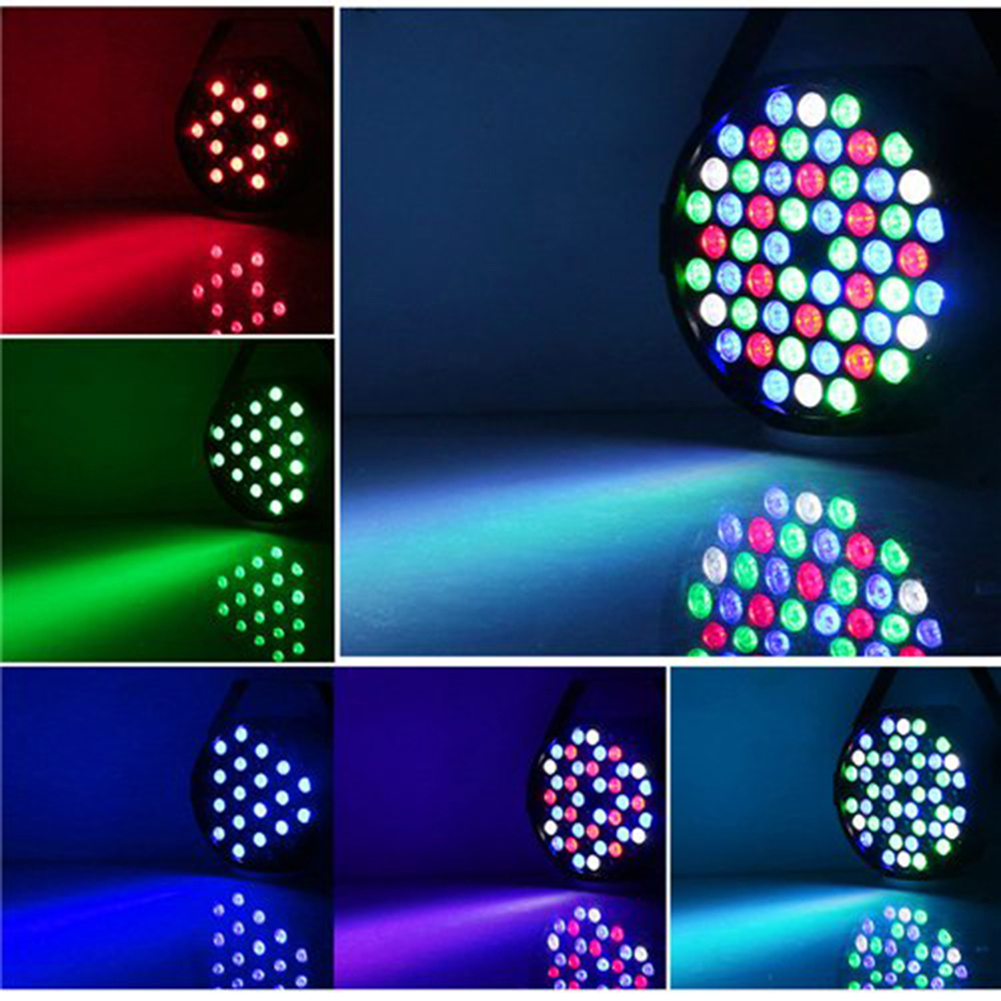 Hot Sale Par Can 54 RGB LED Stage Light Disco DJ Bar Party Effect Disco Lamp Stage Light(China)