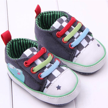 Cheap Baby Canvas Shoes Kids Toddler Shoes Newborn Baby Sports Shoes For First Walk Baby Boy Girl Shoes 0-15 Months