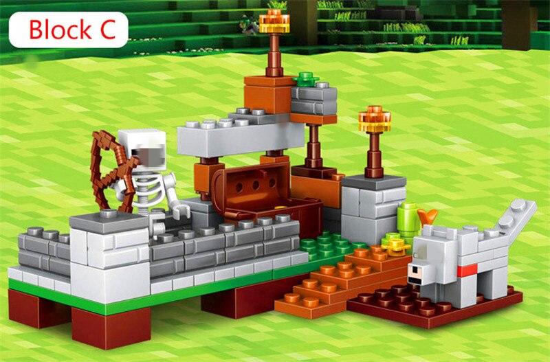 """""""Minecrafti"""" teemalised legod"""