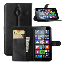Luxury Flip Wallet PU Leather Cell Phone Case Cover For Nokia Microsoft Lumia 640 XL LTE Dual SIM 640xl Case Shell Back Cover
