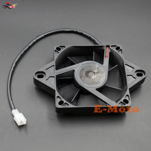 BLACK 12 Volt Electric Engine Cooling Fan Radiator For Honda Motorcycle ATV MX NEW