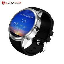 LEMFO X200 8GB 512MB Smart Watch Android5.1 heart rate monitor IP67 life waterproof Support 3G WIFI GPS Nano SIM card(China)