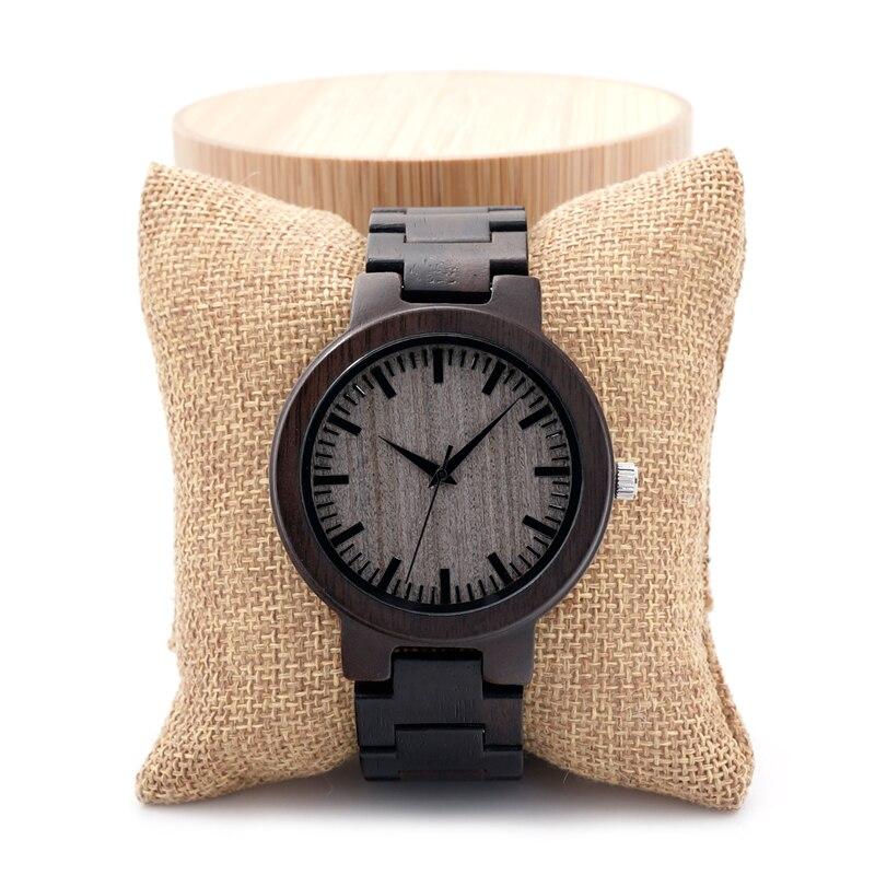BOBO BIRD C30 Mens Brand Designer Wood Dial Full Ebony Wooden Quartz Watches Japan 2035 Miyota Movement Wood Band Watch for Men<br><br>Aliexpress