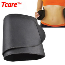 Tcare Newly Free Size Waist Trainer Body Wrap Cellulite Shaper Waistband Trimmer Sauna Belt Slimming Belt Burner Belly Fitness