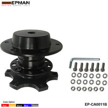 EPMAN -- Car Steering Wheel Snap Off New Quick Release Hub Adapter Boss kit For BMW 520i f10 EP-CA0011B