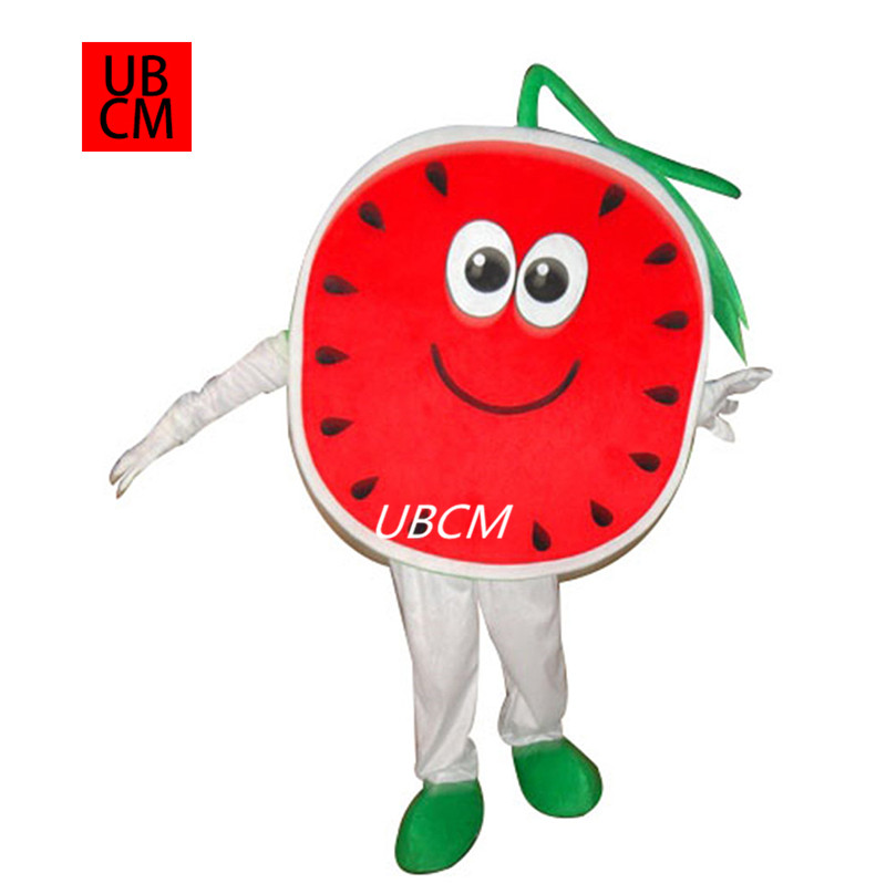 Watermelon Mascot Costume Performance prop costume Adult Outfit